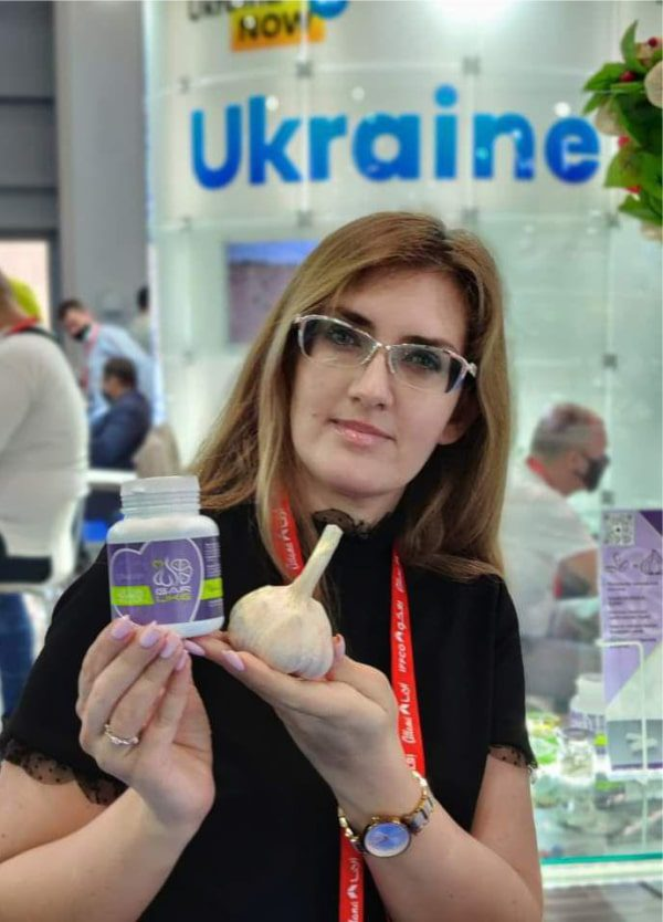 Чесночные капсулы Garlike, выставка, Дубай 2021
